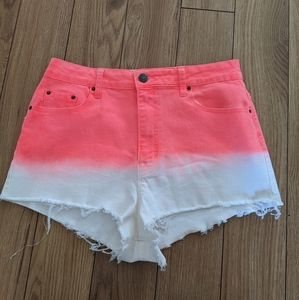 BDG Urban Outfitters cheeky high rise shorts